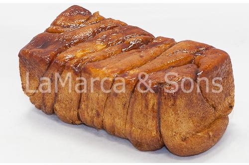 FireKing Cinnamon Bread NO Labels -FI